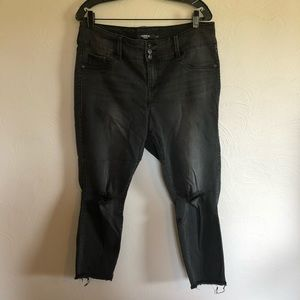 Cropped Black Torrid Jeggings